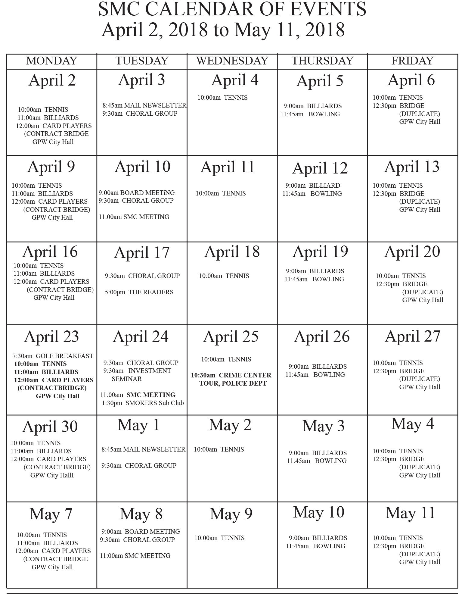 calendar April_18