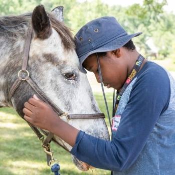 Horse Power, youth riding program